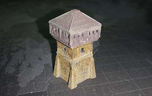 Corner Tower Variant